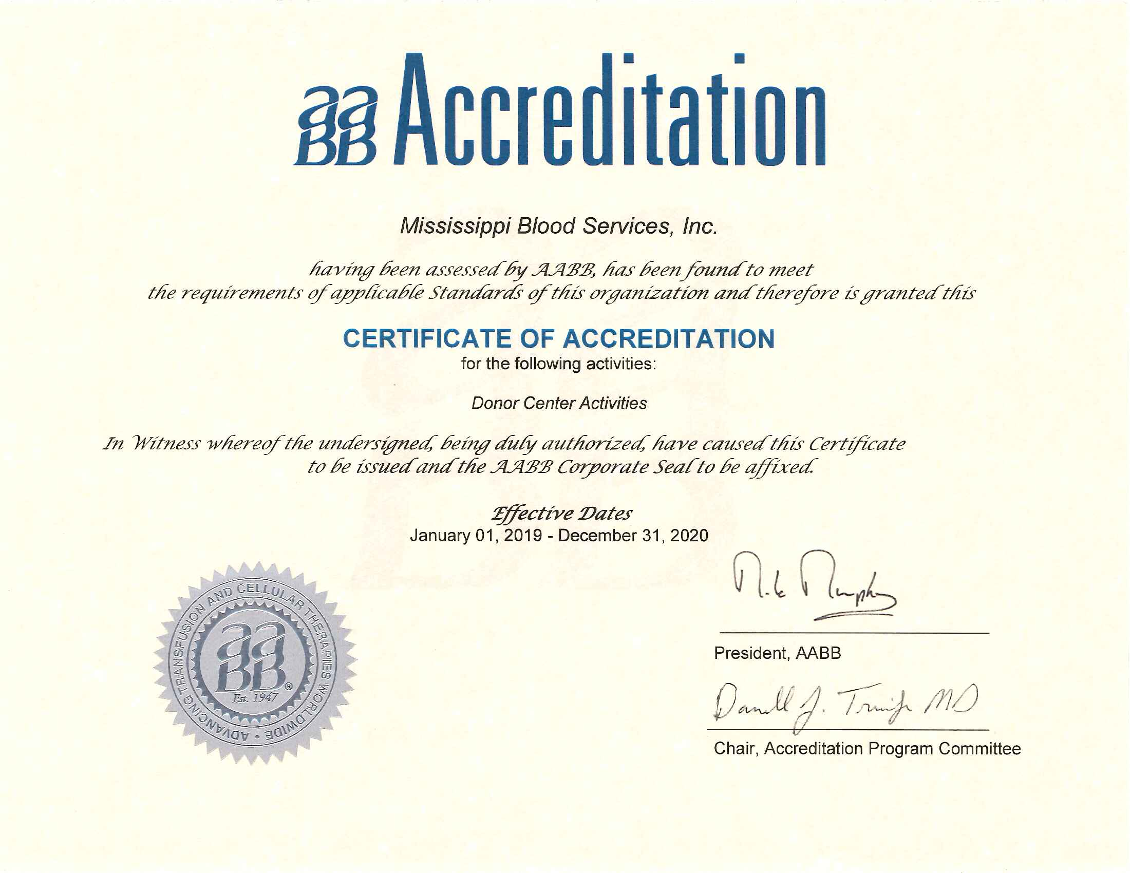 AABB-Certificate-of-Accreditation-2019